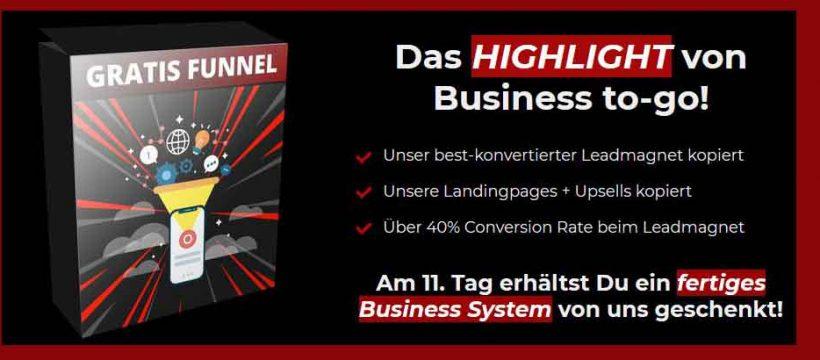 Business to go - ein laientaugliches Produkt von Vladi Hartung