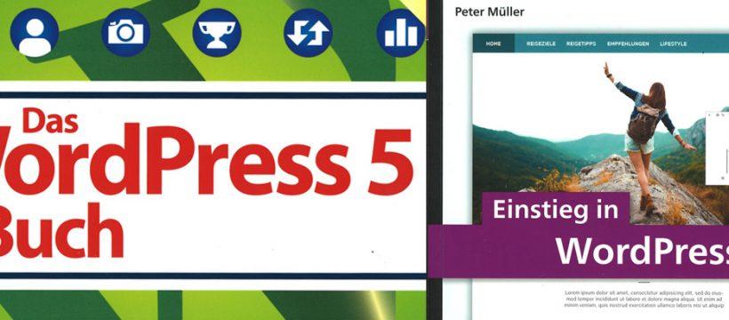 Wichtige Bücher für den Wordpress-Einstieg