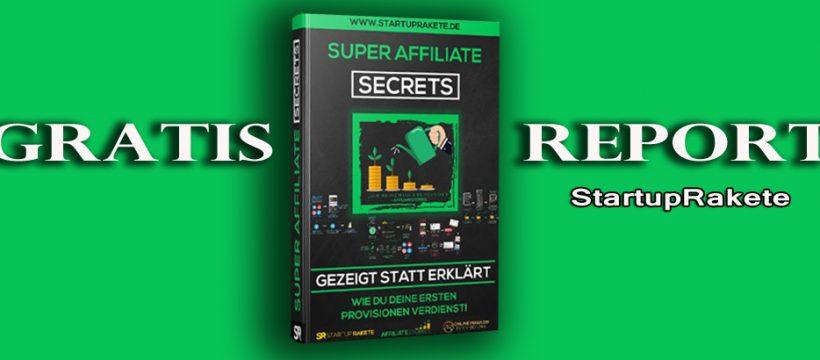 """""""Super Affiliate Secrets"""" heisst das E-Book, in dem Joscha Golombek seine Erfahrungen weitergibt."""